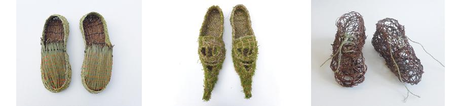 Caroline Dear Flora residency - Llantarnam Loafers St Dials Slippers Blaenavon Boots