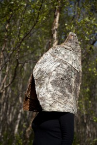 birch bark hat Kjerringoy Norway
