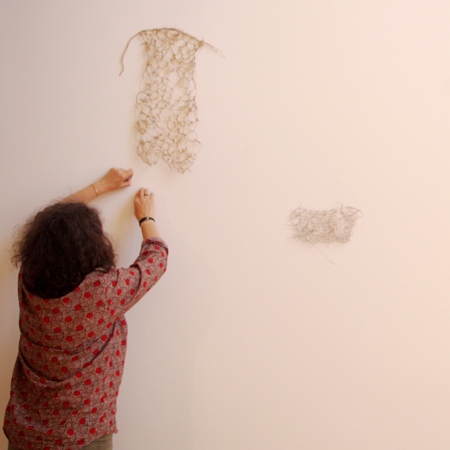 installing Wall composition