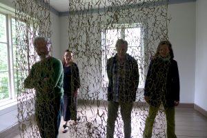 Caroline Dear - Vassen Susar Exhibition Finland - other residency artists