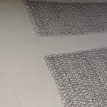 looped line print