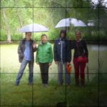 4 artists Saari Finland